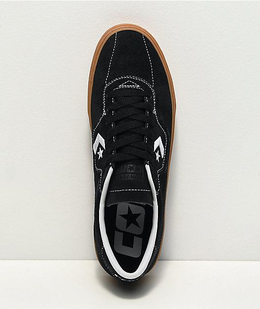Converse Louie Lopez Pro Black & Gum Skate Shoes
