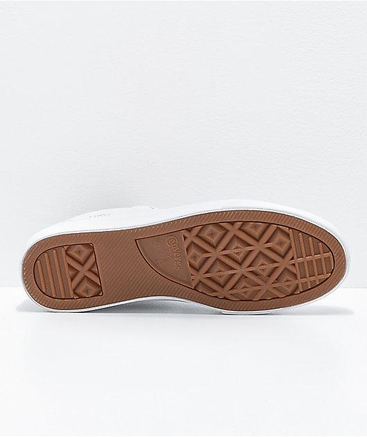 Converse Louie Lopez Pro White Leather Skate Shoes