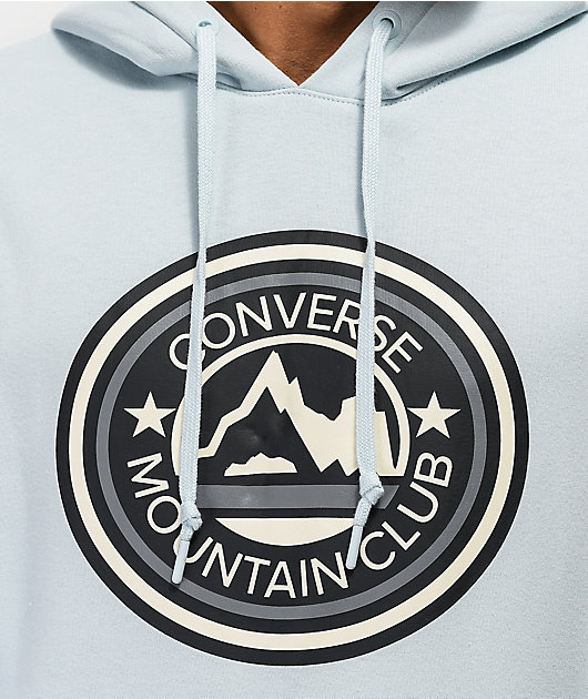 Converse Mountain Club Patch Blue Hoodie