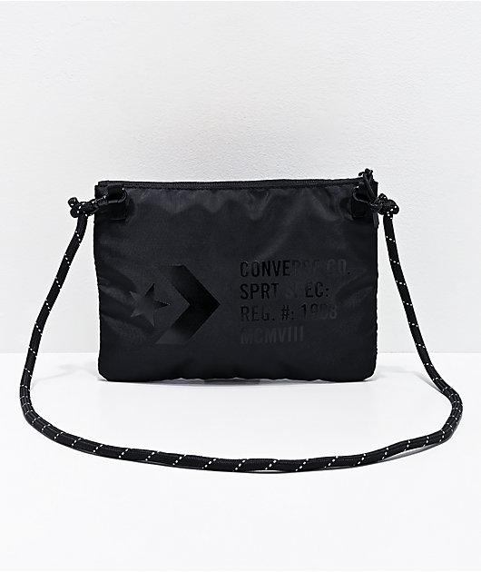 Converse Musette bolso de hombro negro