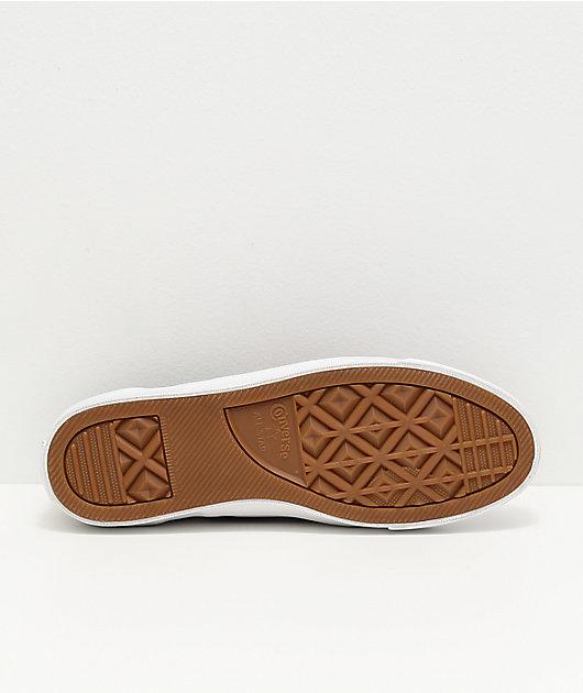 Converse One Star CC Slip-On Pro Team zapatos de skate rojos