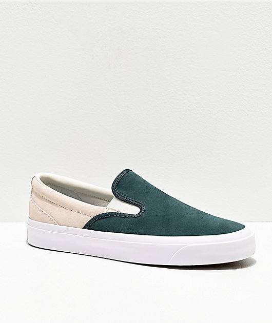 Converse One Star Pro Spruce Slip-On Skate Shoes