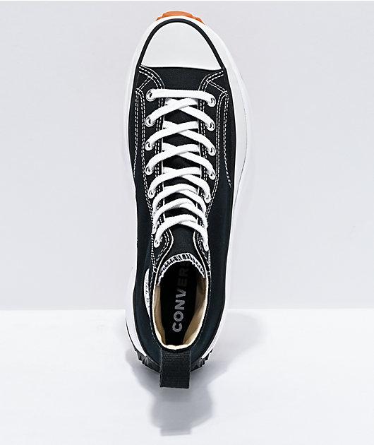 Converse Run Star Hike Black High Top Shoes