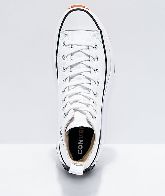 Converse Run Star Hike White High Top Shoes