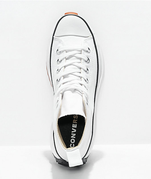 Converse Run Star Hike White High Top Shoes