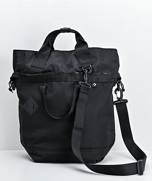 Converse Street Black Tote Bag