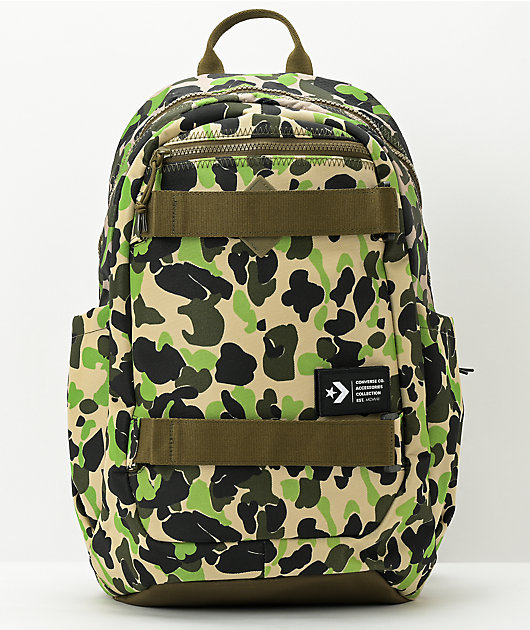 Converse Utility Skate Camo Backpack