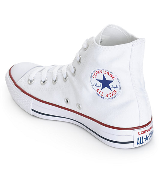 Converse Womens Chuck Taylor All Star White High Top Shoes