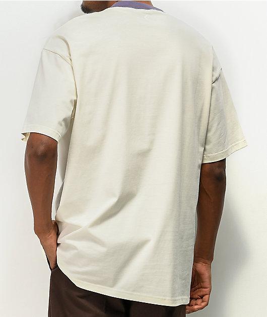 Converse Wordmark camiseta blanca sobredimensionada