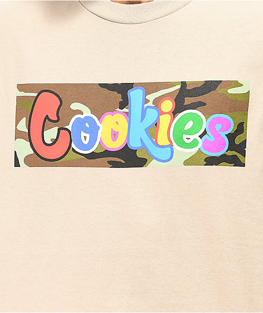 Cookies Batallion Tan T-Shirt