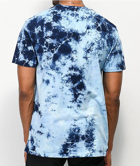 Cookies Blue Sky Navy & Light Blue Tie Dye T-Shirt