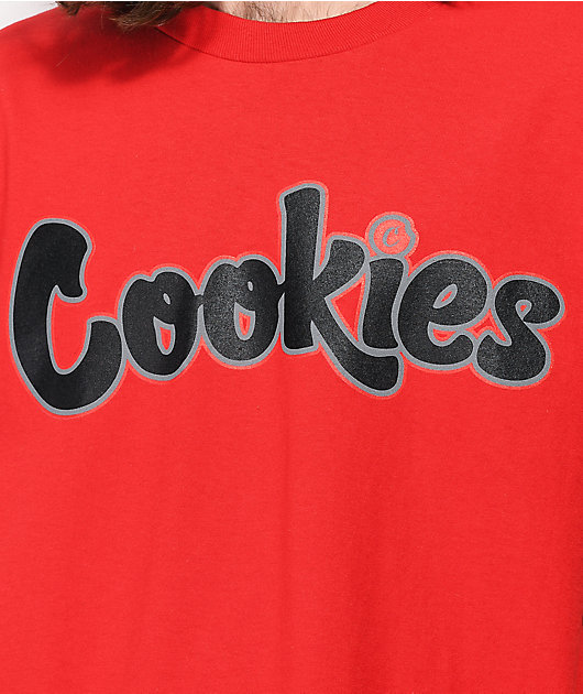Cookies Hardwood Flava Red T-Shirt
