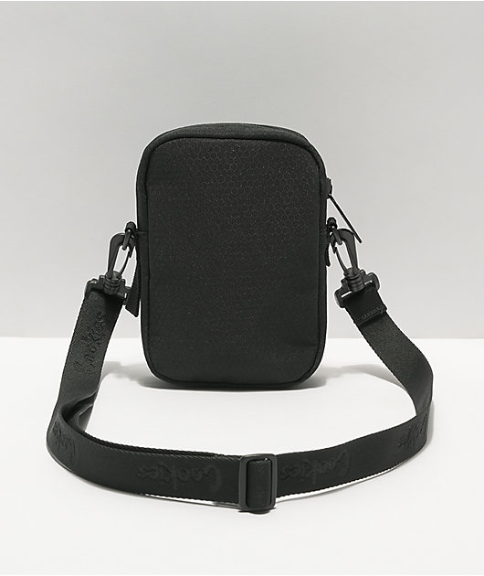Cookies Layers Smell Proof Black Crossbody Bag