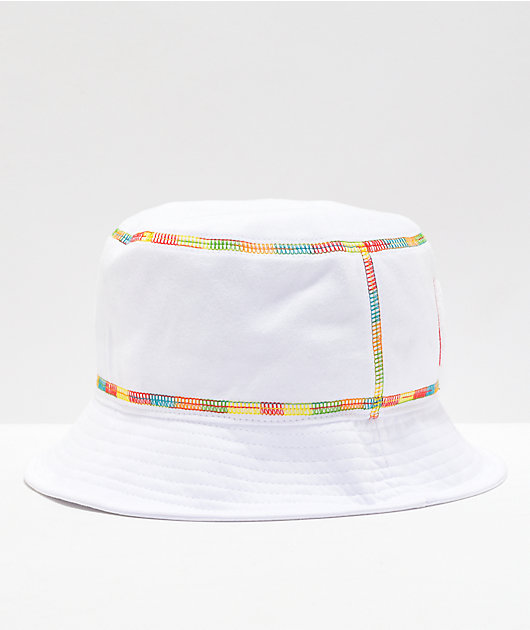 Cookies Pushin' Weight White Bucket Hat