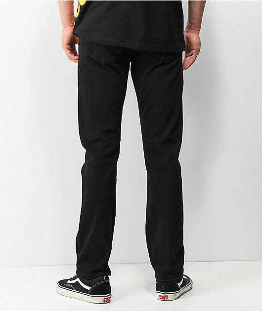 Cookies Relaxed Fit Black Denim Jeans