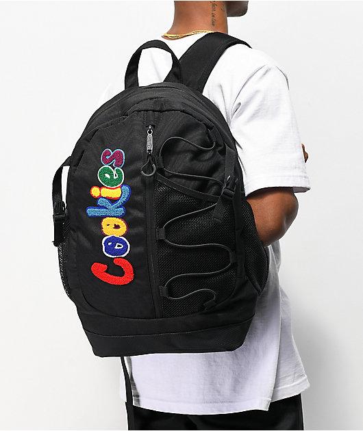 Cookies Smell Proof Bungee Black Backpack