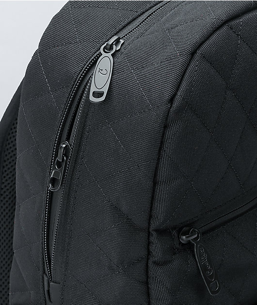 Cookies Smell Proof V4 Quilted Black Backpack