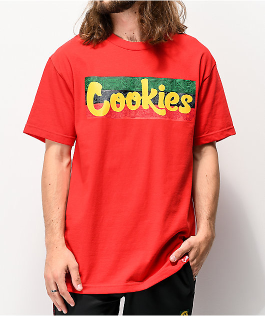 Cookies Sol Thin Mint Red T-Shirt
