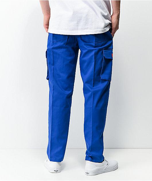Cookman Deep Blue Cargo Chef Pants