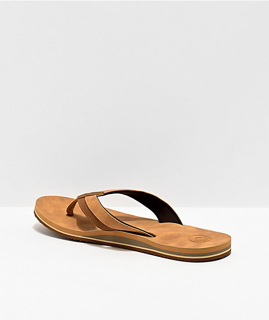 Cords Brewer Tan & Brown Sandals
