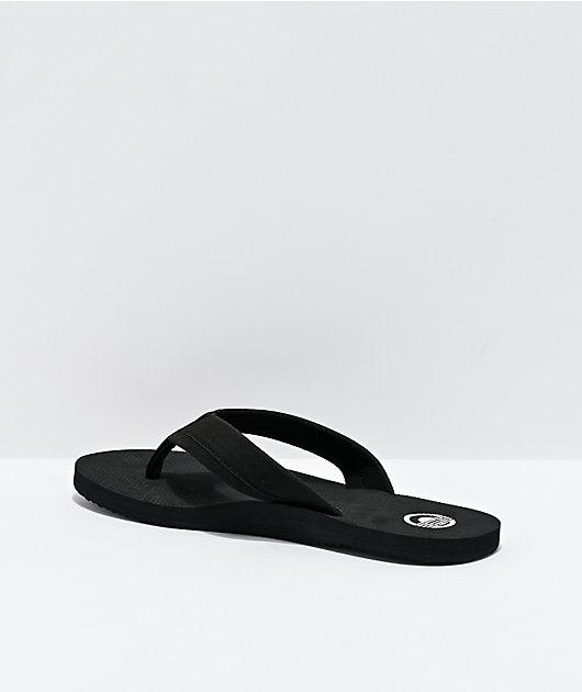 Cords Comfort Waves Black Sandals