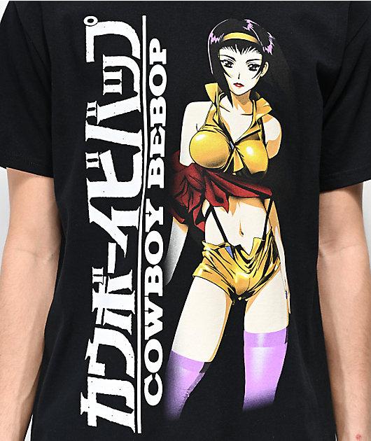 Cowboy Bebop Faye Black T-Shirt