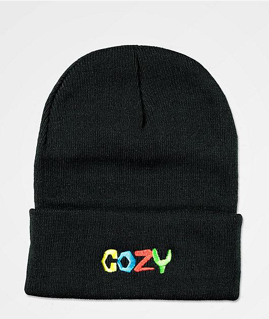 Cozy Boys Black Beanie