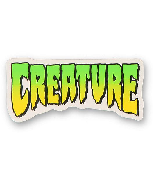 Creature Logo Decal Sticker