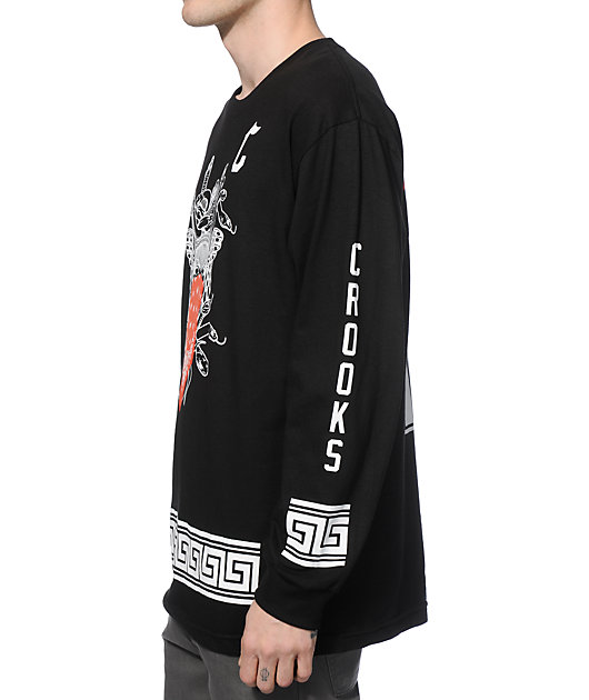 Crooks And Castles Standard Long Sleeve T