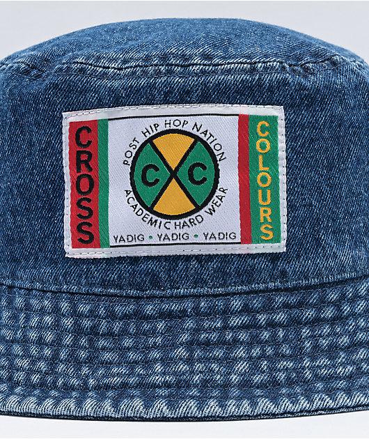 Cross Colours Denim Bucket Hat
