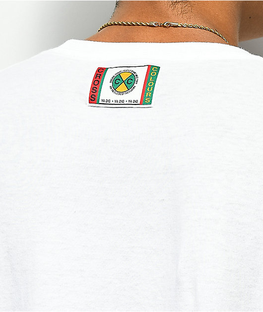 Cross Colours Left Eye Shooter White T-Shirt