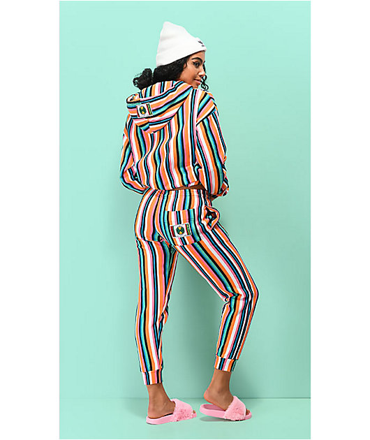 Cross Colours Pop jogger pantalones deportivos de rayas