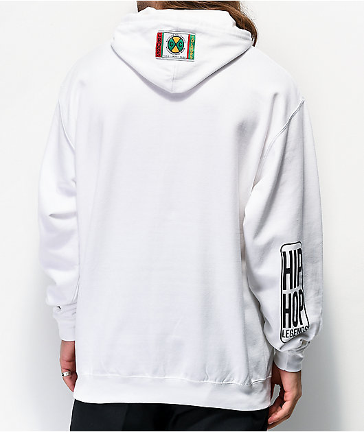 Cross Colours TLC Jumping White Hoodie