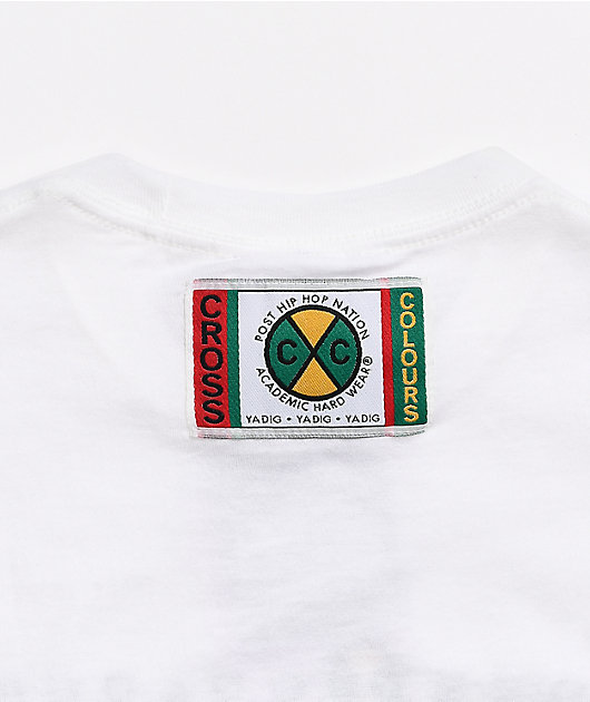 Cross Colours Without Prejudice White T-Shirt