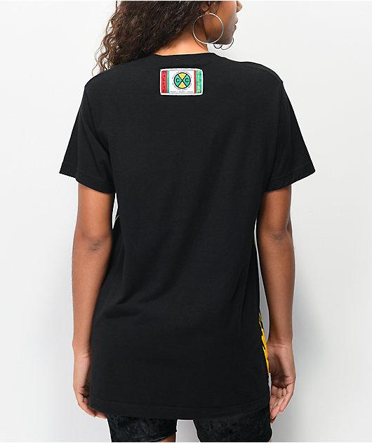 Cross Colours x Billie Eilish Flame Black T-Shirt