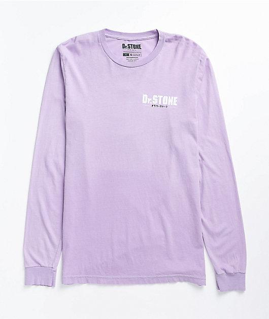 Crunchyroll x Dr. Stone Science Lavender Long Sleeve T-Shirt