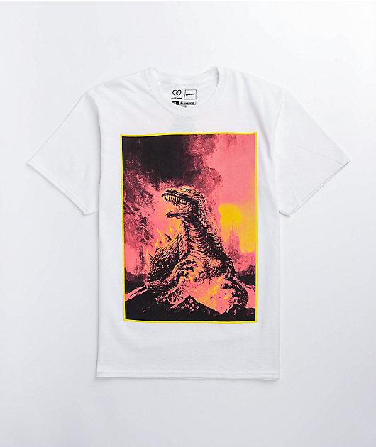 Crunchyroll x Godzilla Cataclysm White T-Shirt