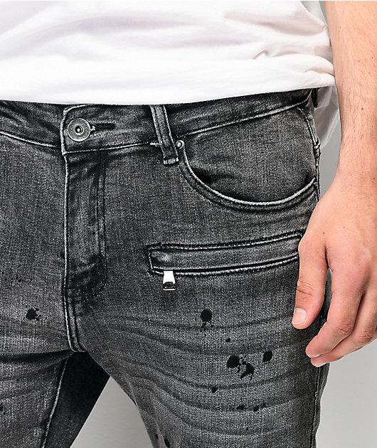 Crysp Denim Montana jeans negros teñidos