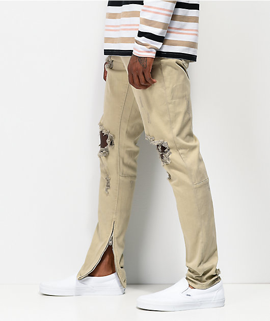 Crysp Denim Pacific Khaki Denim Jeans