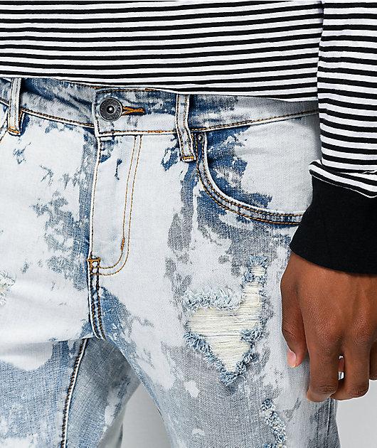 Crysp Montana Scribbles Denim Jeans