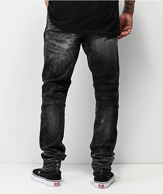 Crysp Montana Washed Black Jeans