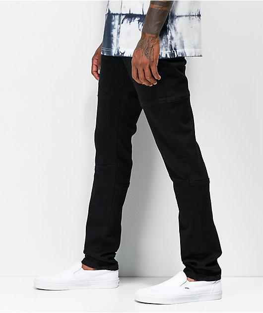 Crysp Rockwell jeans negros de moto