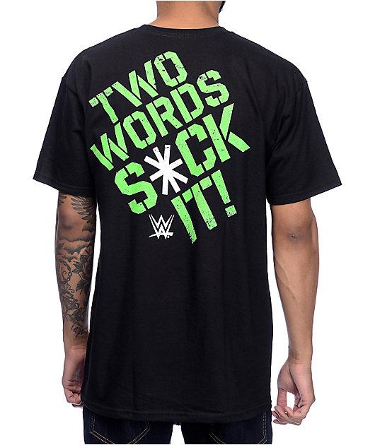 D X Black T-Shirt