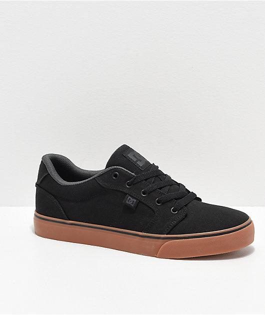 DC Anvil TX Black \u0026 Gum Skate Shoes
