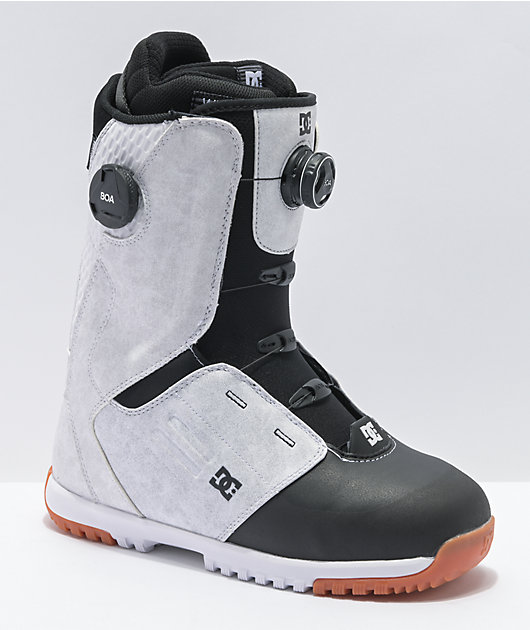 DC Control White & Black Boa Snowboard Boots 2021