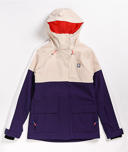DC Cruiser Grey Morn 10K Snowboard Jacket