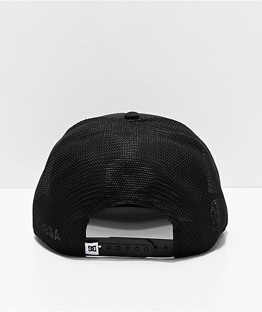 DC Greet Up Black Trucker Hat