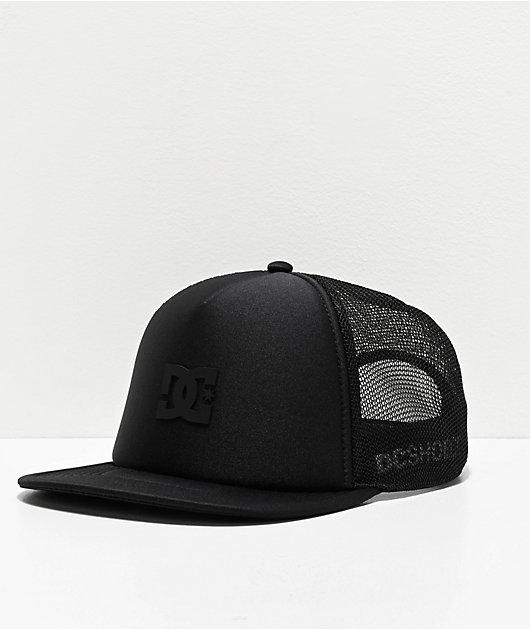 DC Greet Up gorra negra de camionero
