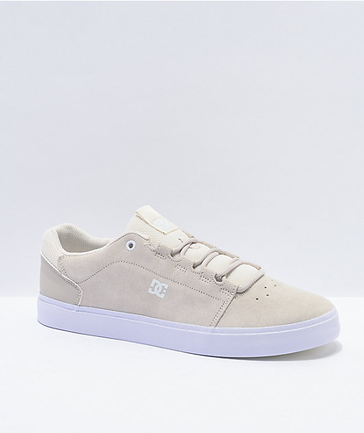DC Hyde White Skate Shoes
