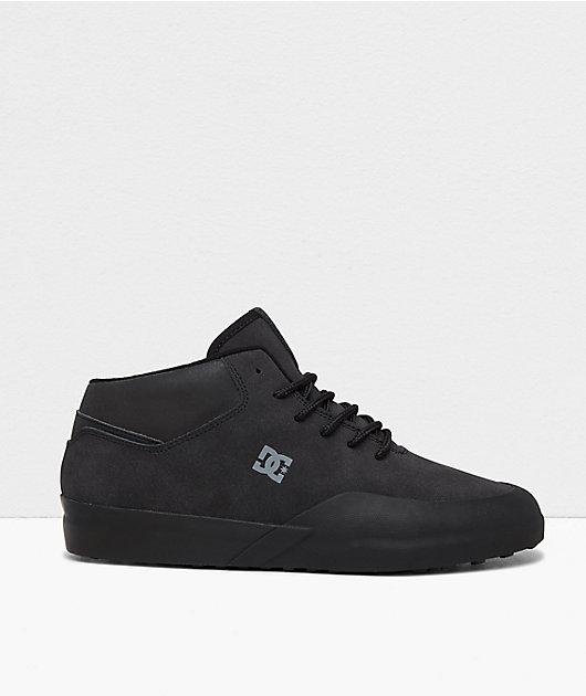 DC Infinite Mid Black Winterized Shoes